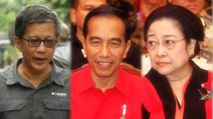 Megawati Jadi Beban Buat Jokowi, Rocky Gerung: Megawati Todong Jokowi di Depan Publik