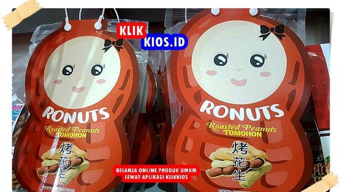 Belanja Yuk! Ada RONUT, Kacang Sangrai Khas Tomohon di Kios UMKM Sulut