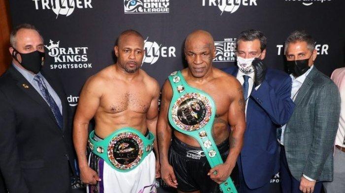 Mike Tyson Ternyata Isap Ganja Jelang Duel Lawan Roy Jones Jr, 'Saya Tak Bisa Berhenti'