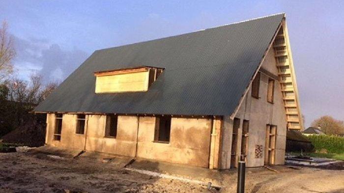 Pertama di Dunia, Rumah dari Serat Ganja