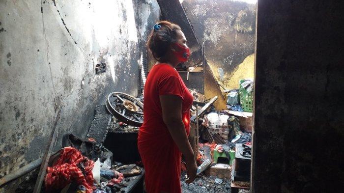 Kebakaran di Kelurahan Karame Manado, Hadijah: Banyak Barang Berharga Disimpan di Rumah