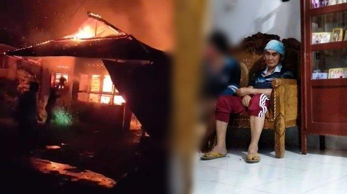 Gereja dan Ormas Galang Dana untuk Lansia Korban Kebakaran Pakuure di Minsel