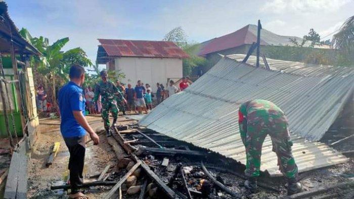 Korban Kebakaran di Sondana Numpang di Rumah Tetangga