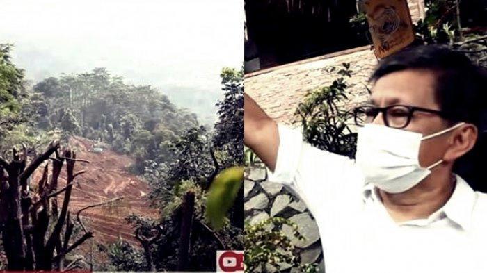 Rumah Rocky Gerung Dikepung Buldozer, Ribut dengan Sentul City: Monyet Tak Berani Datang
