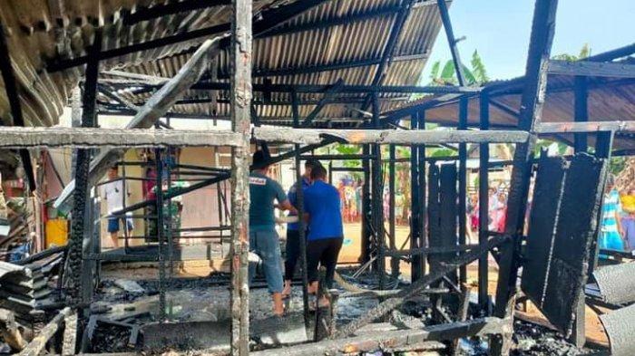 BREAKING NEWS, Satu Rumah di Desa Sondana Ludes Dilahap Si Jago Merah