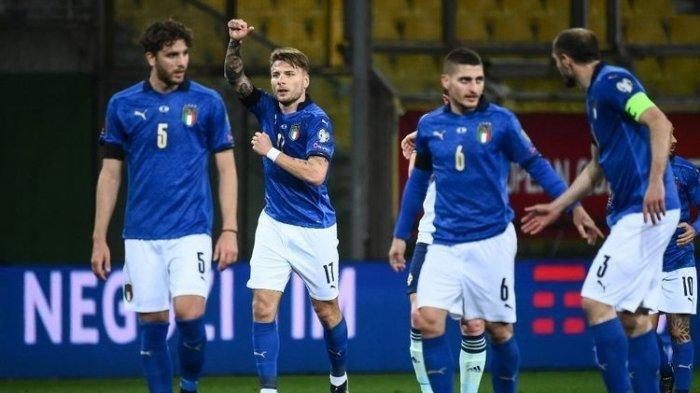 LINK Live Streaming Grup A Italia vs Swiss EURO 2020, Roberto Mancini Buka Opsi Rotasi, Chiesa Main?