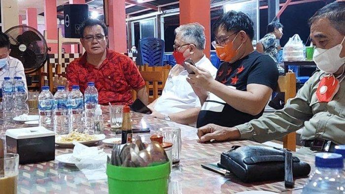 Saat rapat kerja FKDM Kota Manado
