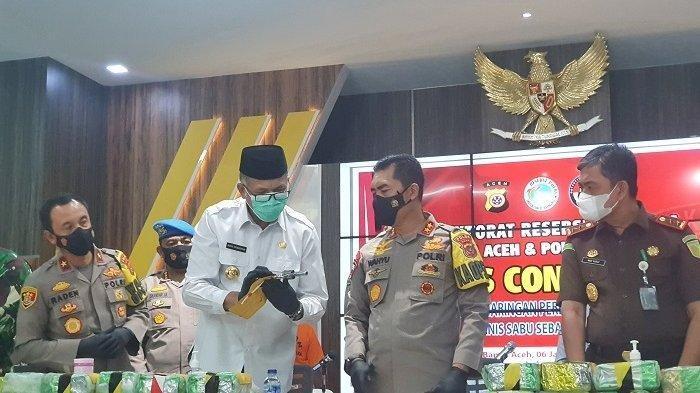 Sabu 61 Kg Disita Polisi, Polda Ungkap Kasus Narkoba Jaringan Internasional, Dikirim via Jalur Laut