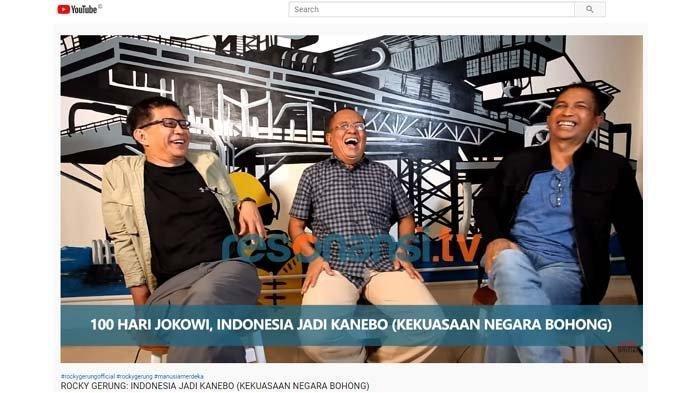 Wapres Kena Sindir, Said Didu: Ma'ruf Amin Sudah Tak Terdengar Lagi di 100 Hari Pemerintahan Jokowi