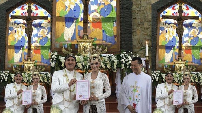 7 Fakta PernikahanBernadetha Melinda, PutriKapoldaSulut Irjen Remigius Sigid, Simak Foto-fotonya
