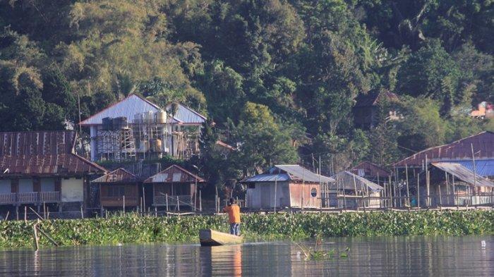 Danau Tondano Dari Sudut Pandang Desa Urongo Minahasa