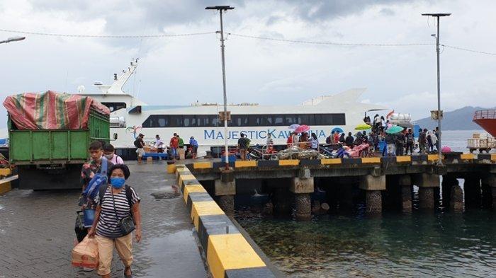Cuaca Buruk, Jadwal Pelayaran Kapal Penumpang di Sitaro Tertunda