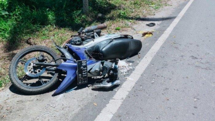 Kecelakaan di Talaud, Dua Pengendara Roda Dua Kritis