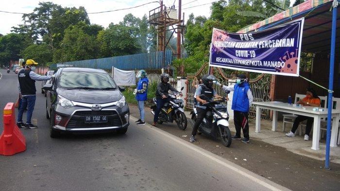 Pos Pemeriksaan Kesehatan Pencegahan Covid-19 di Manado Diberhentikan Mulai Kamis 25 Juni