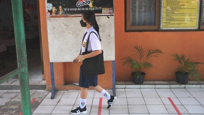 SMP di Manado Laksanakan PTM Terbatas, Lakukan Pembelajaran Hanya Dua Jam