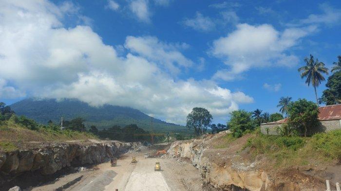Charles Lendara Direktur PT JMB Sebut Jalan Tol Manado Bitung Rampung Desember 2021