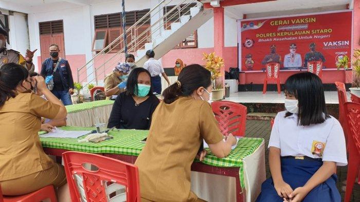 Vaksinasi Anak Digenjot, Kepala Dinkes Sitaro: Harus Didampingi Orangtua