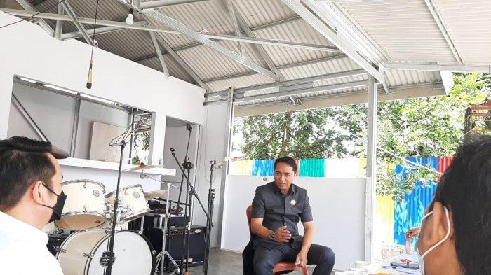 Bupati Bolaang Mongondow Timur (Boltim) Sulawesi Utara, Sam Sachrul Mamonto menerima kunjungan manajemen Tribun Manado pada Rabu 28 Juli 2021