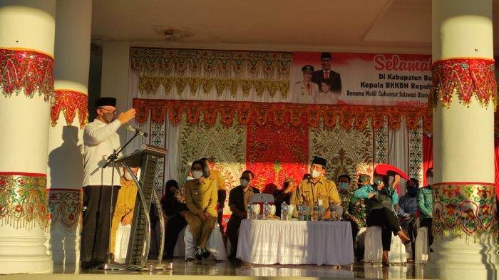 Sambut Kunjungan Kepala BKKBN RI, Yasti Mokoagow Optimis Tuntaskan Masalah Stunting di Bolmong