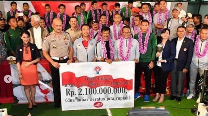 Ini Rincian Bonus Kemenpora untuk Timnas Indonesia Juara Piala AFF, Pelatih, Pemain, hingga Ofisial