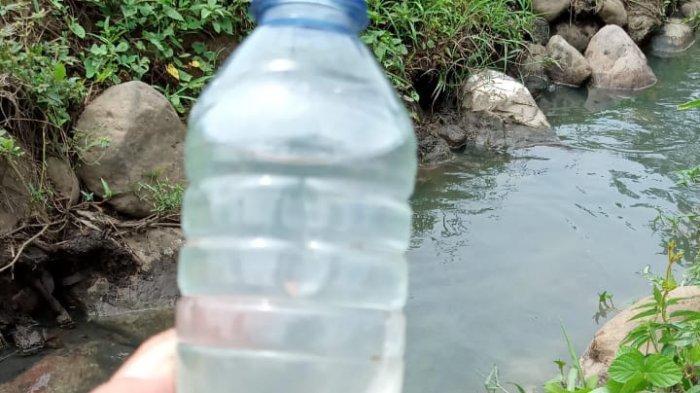 Ini Hasil Sampel Laboratorium Air Sungai Tongop Diambil DLH Minsel, Tercemar atau Tidak?