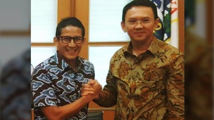Jokowi dan Sandiaga Uno Beri Tanggapan Begini Saat Erick Thohir Bocorkan Alasan Ahok Gabung BUMN