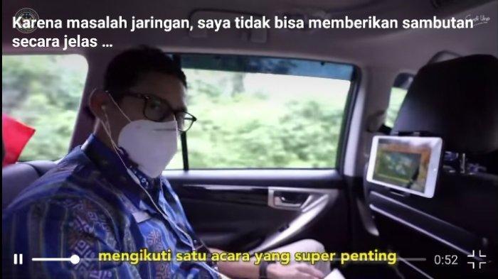 Cerita Sandiaga Uno Alami Susah Sinyal di Likupang, Batal Sambutan, Langsung Hubungi Menkominfo