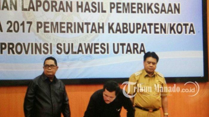 Pemkab Sangihe Raih Opini WTP DiawalPemerintahan Gaghana-Hontong
