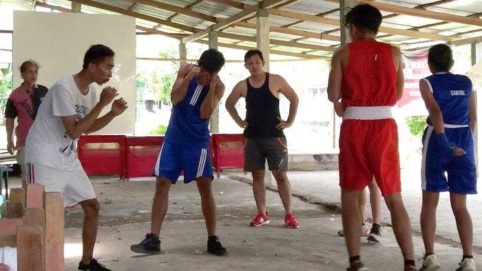 Atlet Boxing Camp Mantelagheng Ingin Wakili Nama Sangihe