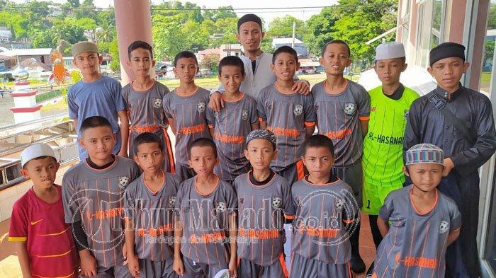Belajar Agama Tanpa Hilangkan Hobi Anak-anak di Al Hasanain Islamic Soccer School Kotamobagu