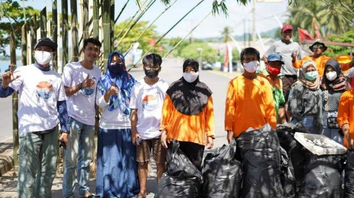 Kegiatan SapuJagat di Bolsel Berhasil Angkut Puluhan Sampah Plastik