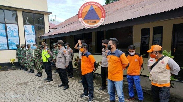 Antisipasi Cuaca Ekstrem, Satgas Bangun Posko Bencana di Polsek Likupang