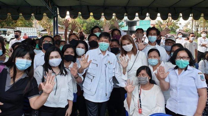 Wali Kota Manado Lantik Satgas Covid-19 Lingkungan Se-Kecamatan Malalayang