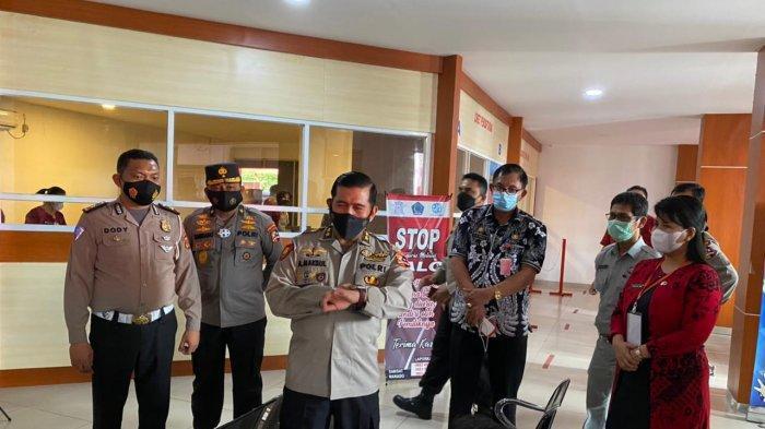 Tinjau Pelayanan Samsat Manado, Satgas Saber Pungli Pusat Ingatkan Jangan Ada Pungutan Liar