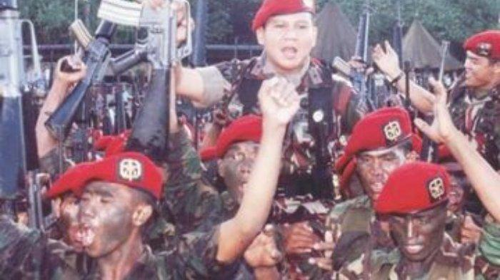Satgultor 81, pasukan misterius bentukan Prabowo Subianto dan Luhut Panjaitan