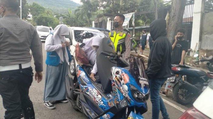 Kasat Lantas Polres Bitung Masih Sering Temukan Anak Sekolah Tak Disiplin Mengendarai Motor