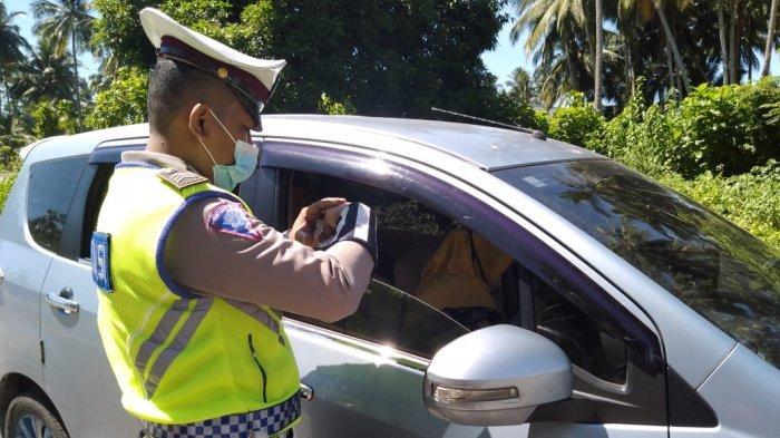 BREAKING NEWS: Satlantas Polres Bolsel Gelar Operasi Gabungan di Desa Salongo