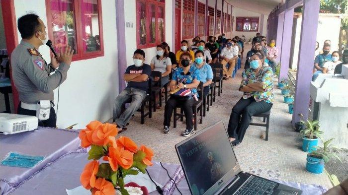 Dua Kelurahan di Kecamatan Ranowulu Bakal Jadi Pilot Project Kelurahan Tertib Lalu Lintas
