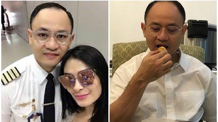 FAKTA Satrio Dewandono, Pilot Garuda Terbangkan Harley Selundupan, Ternyata Suami ke-2 Iis Dahlia