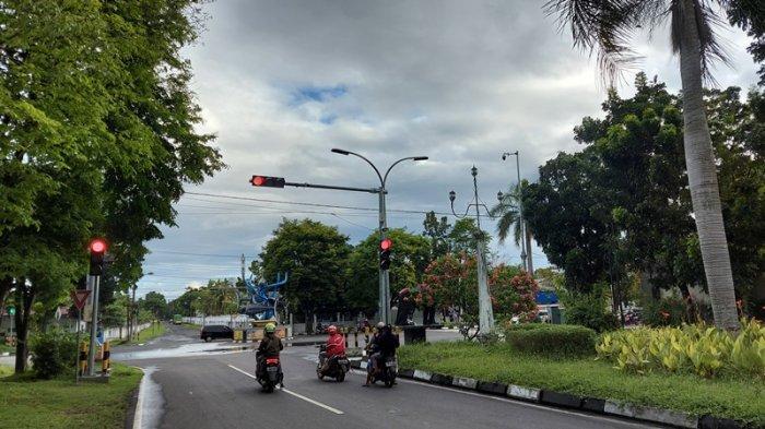 Netizen Soroti Pemasangan Lima Titik Traffic Light di Kota Bitung