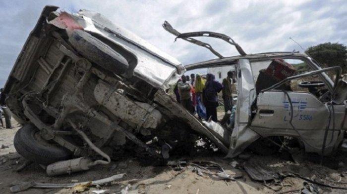 15 Orang Tewas Setelah Minibus Hancur Lebur Terkena Ranjau Darat, Warga Sipil yang Jadi Korban