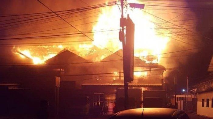 Kebakaran Besar 8 Ruko Rabu 26 Mei 2021, Satu Orang Tewas
