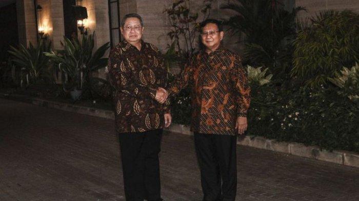 SBY Singgung Airlangga, BIN, dan Luhut Soal Demo Omnibus Law, Prabowo Subianto Angkat Bicara
