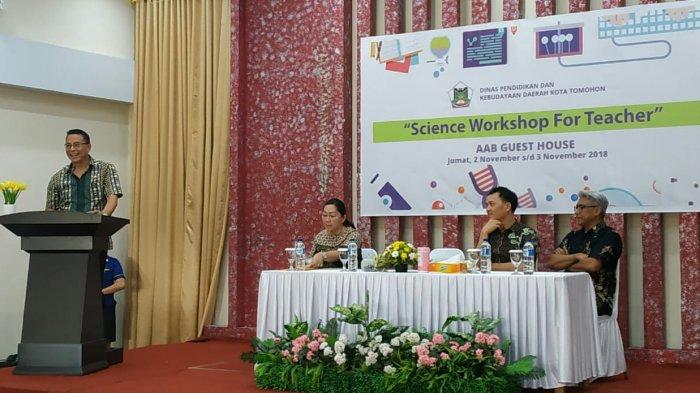 Pemkab Tomohon Gelar Science Workshop for Teacher