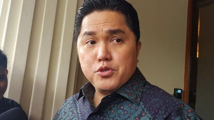 Anak Presiden Gus Dur DitunjukErick Thohir JadiKomisaris Garuda Indonesia