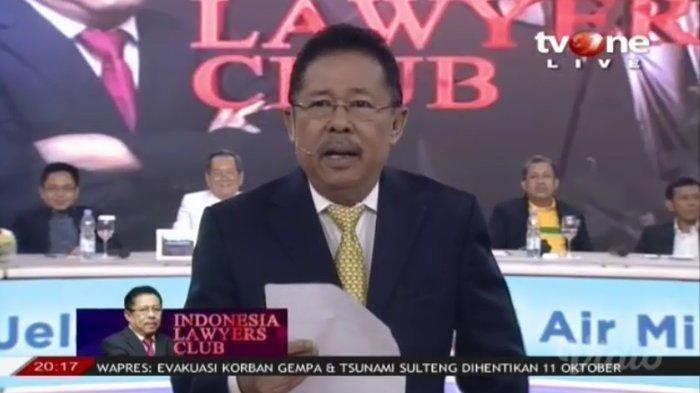 Ini Penyebab ILC TV One Istirahat Tayang Setelah Pilpres 2019