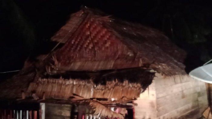 UPDATE! 5 Rumah di Desa Salongo Timur Rusak Setelah Diterpa Cuaca Ekstrim