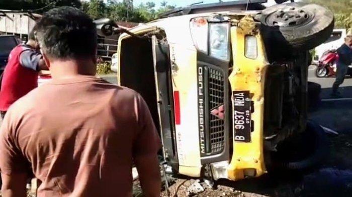Kecelakaan Maut Pukul 08.00 WIB, Pejalan Kaki Tewas Seketika Terlindas Truk, Ini Kronologinya