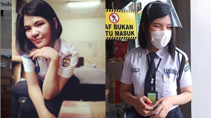 Security Cantik Marsela Silfana Toreh: Tetap Semangat Menjalani Pekerjaan, Pekerjaan Apa Pun