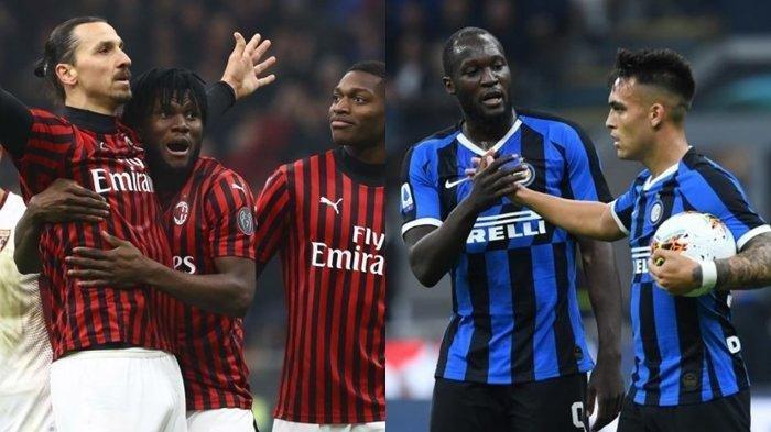 Inter dan AC Milan Gelar 'Laga' Derby Italia di tengah Pandemi Covid-19, Andalkan 2 Pemain Ini